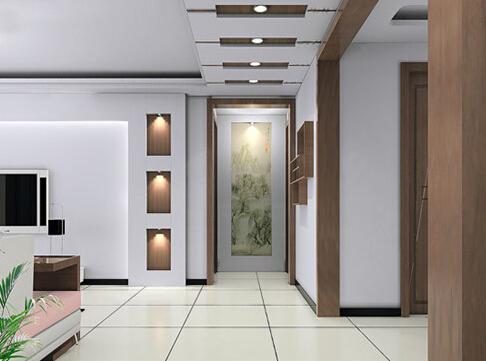 走廊吊顶装修效果图及注意事项